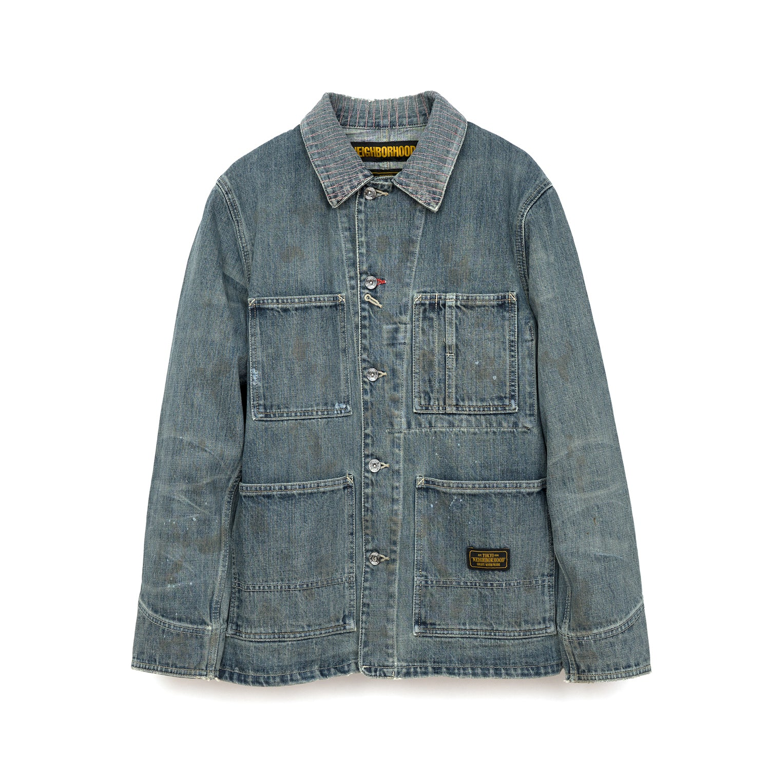 NEIGHBORHOOD 'Savage Coverall' C-Jacket Indigo