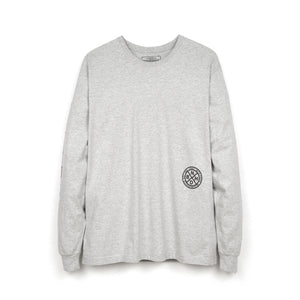 NEIGHBORHOOD | 'F&F.ABJAD' / C-TEE LS Gray - Concrete