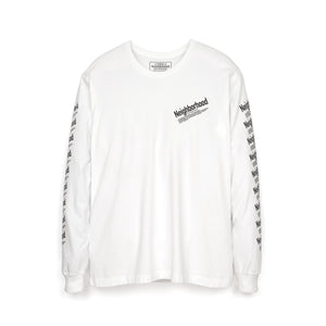 NEIGHBORHOOD | ID / C-Tee LS White - Concrete