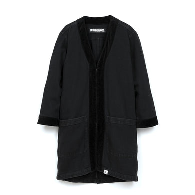 NEIGHBORHOOD | 'Gown.ID' C-Coat Black - Concrete