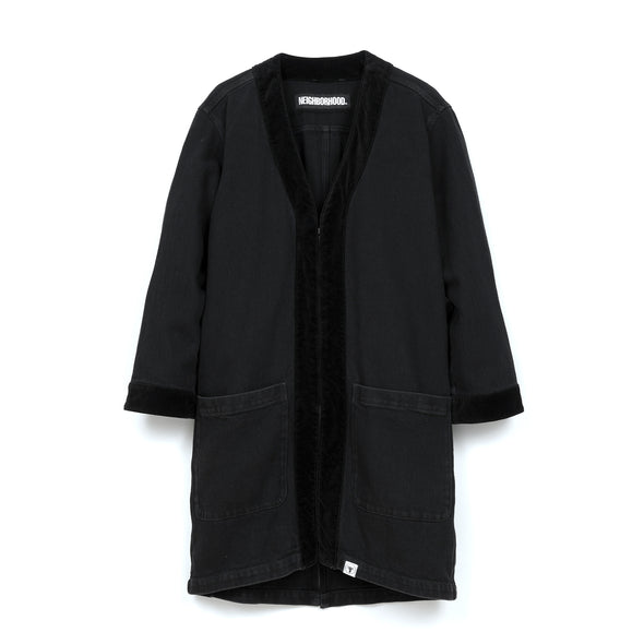 NEIGHBORHOOD 'Gown.ID' C-Coat Black