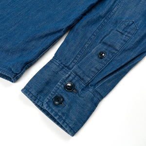 NEIGHBORHOOD 'D.W.' C-Shirt L/S Indigo