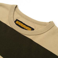 Load image into Gallery viewer, NEIGHBORHOOD | 'B.D.' C-Crew L/S Olive Drab - Concrete