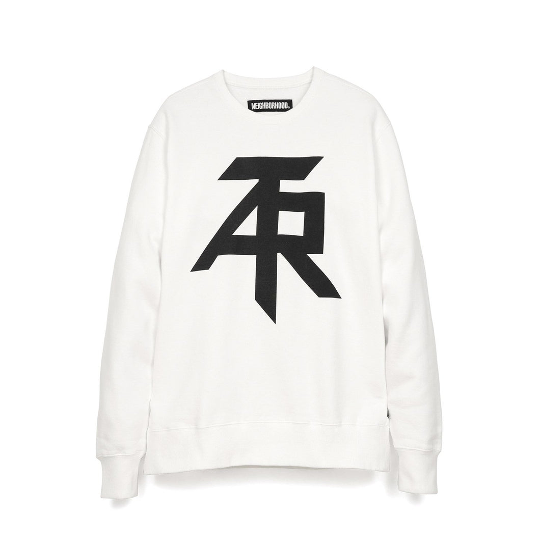 NEIGHBORHOOD 'ATR' C-Crew L/S White