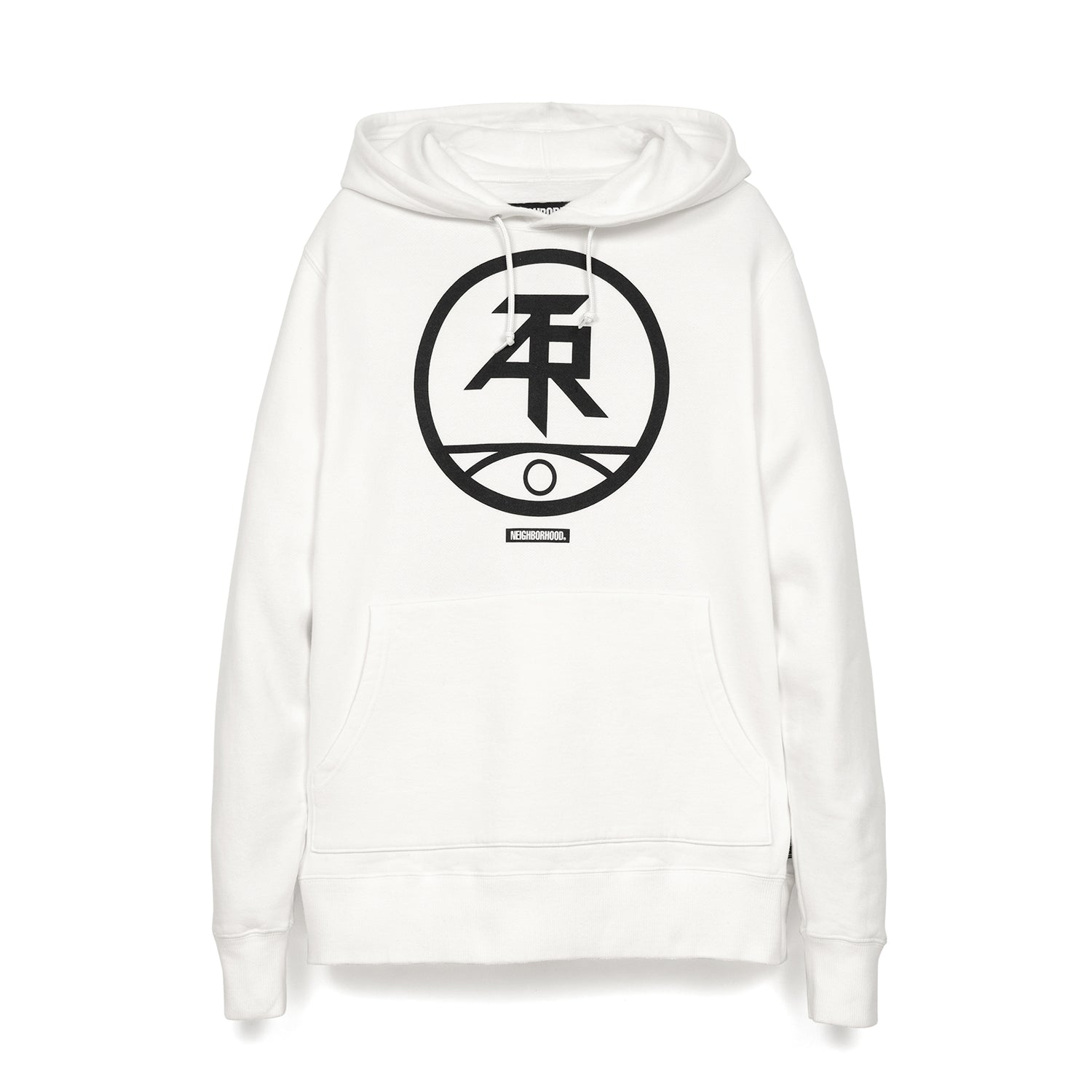 NEIGHBORHOOD 'ATR' C-Hooded L/S White