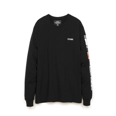NEIGHBORHOOD | 'CTDNH-2' / C-TEE. LS Pullover Black - Concrete