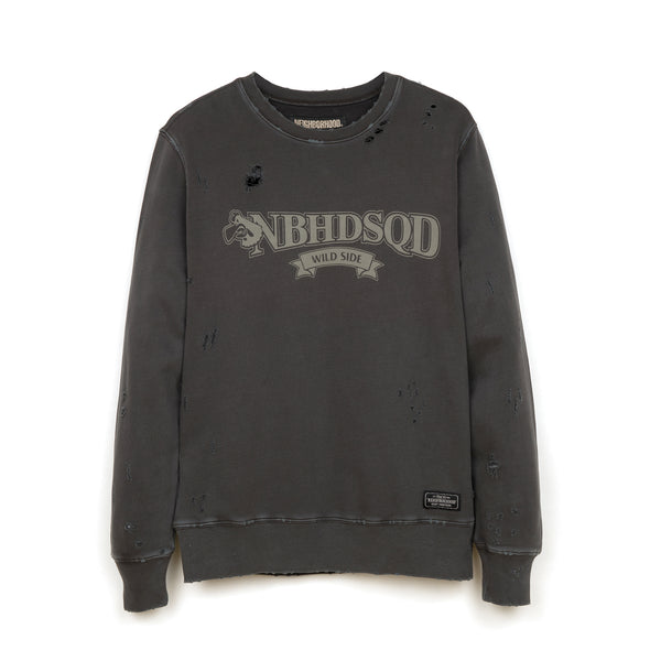 NEIGHBORHOOD Wild Side / C-Crew. LS Black