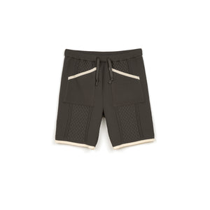 NEIGHBORHOOD | Cable / E-ST Short Pants Gray - Concrete