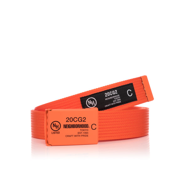 NEIGHBORHOOD | G.I. / N-Belt Orange