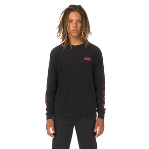 NEIGHBORHOOD | Vertigo / C-Tee LS Black - Concrete