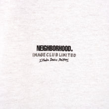 將圖像加載到畫廊查看器中NEIGHBORHOOD | x Image Club Limited NHIX-3 / C-Tee White - Concrete