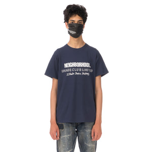 NEIGHBORHOOD | x Image Club Limited NHIX-4 / C-Tee Navy - Concrete