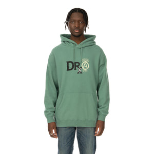 NEIGHBORHOOD | DRXSRL / C-HOODED LS. Olive Drab - Concrete