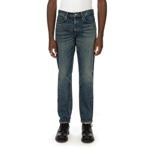 NEIGHBORHOOD | Washed. DP-Narrow / 14OZ PT Indigo - Concrete