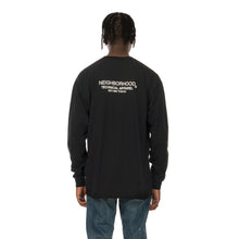 Load image into Gallery viewer, NEIGHBORHOOD | Distortion-1 / C-TEE LS. Black - Concrete