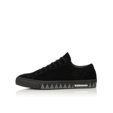 NEIGHBORHOOD | G.R. / CL-SNEAKER Black