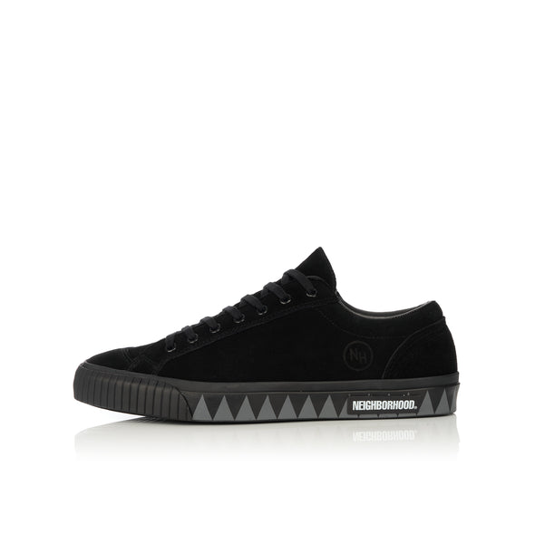 NEIGHBORHOOD | G.R. / CL-SNEAKER Black - Concrete