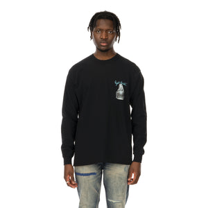 NEIGHBORHOOD | ADDICT / C-Tee .LS Black - Concrete