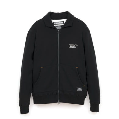 NEIGHBORHOOD S&W / C-Zip Cardigan . LS Black