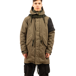NEMEN® | Fishtail Parka MF Raf Green - Concrete