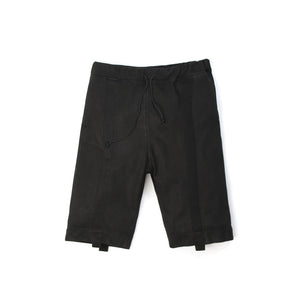 NEWAMS | Coated Shorts Black - Concrete