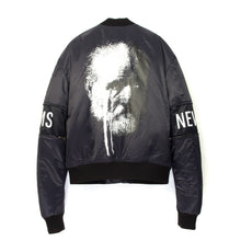 Load image into Gallery viewer, NEWAMS Bomber Jacket Purple