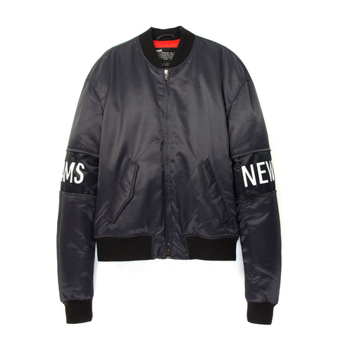 NEWAMS Bomber Jacket Purple