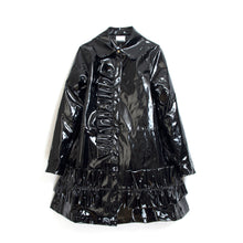 Load image into Gallery viewer, NicoPanda Rain Jacket Black