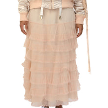 Load image into Gallery viewer, NicoPanda Ruffled Long Skirt Apricot - Concrete
