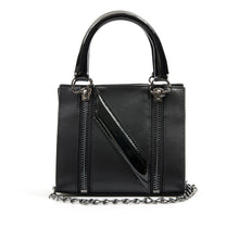 將圖像加載到畫廊查看器中NicoPanda Tank Mini Handbag Black - Concrete
