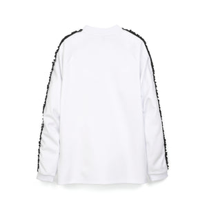 NicoPanda Track Top White - Concrete