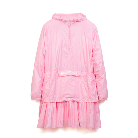 NicoPanda Windbreaker Dress Pink