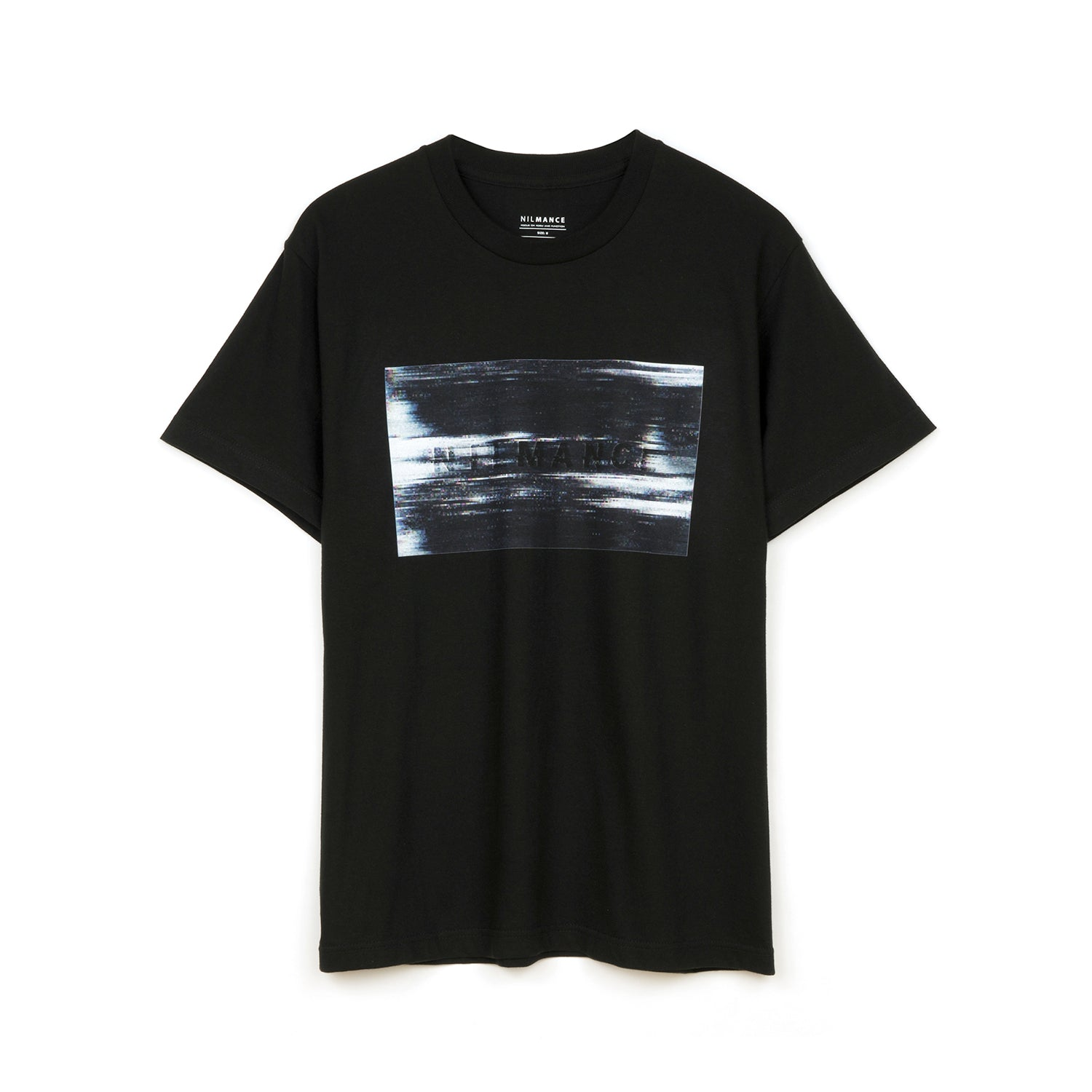 Nilmance Digital Print T-Shirt Black