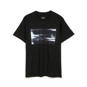 Nilmance | Digital Print T-Shirt Black - Concrete