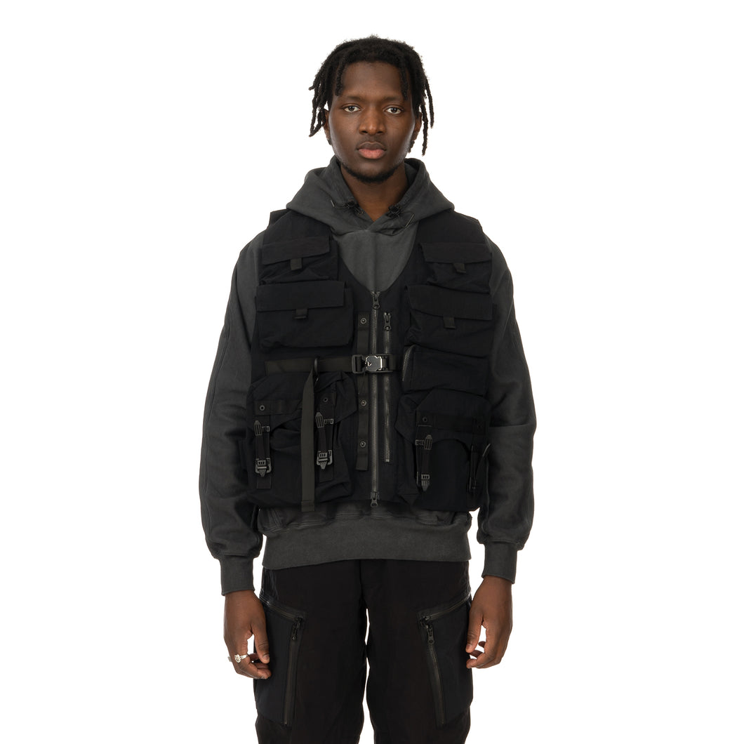 Nilmance | Technical Vest ACB-01 Black - Concrete
