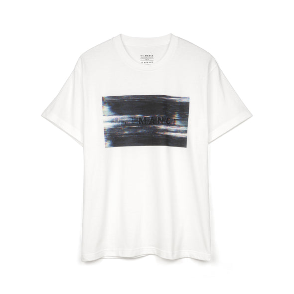 Nilmance | Digital Print T-Shirt White - Concrete