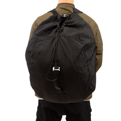 Nilmance | Shoulder Backpack SSP-01 Garment Dyed Black - Concrete