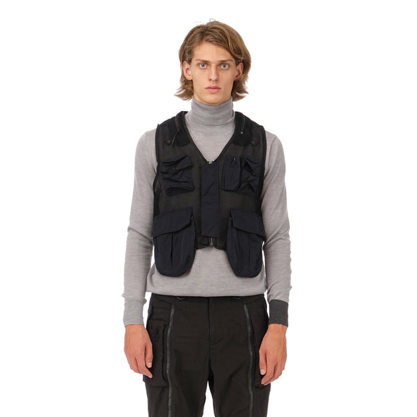 Nilmance | Technical Vest BVJ-01 Black - Concrete