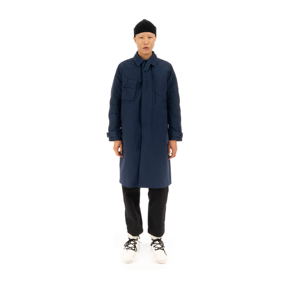 Nilmance | Trench Coat TC-01 Navy - Concrete