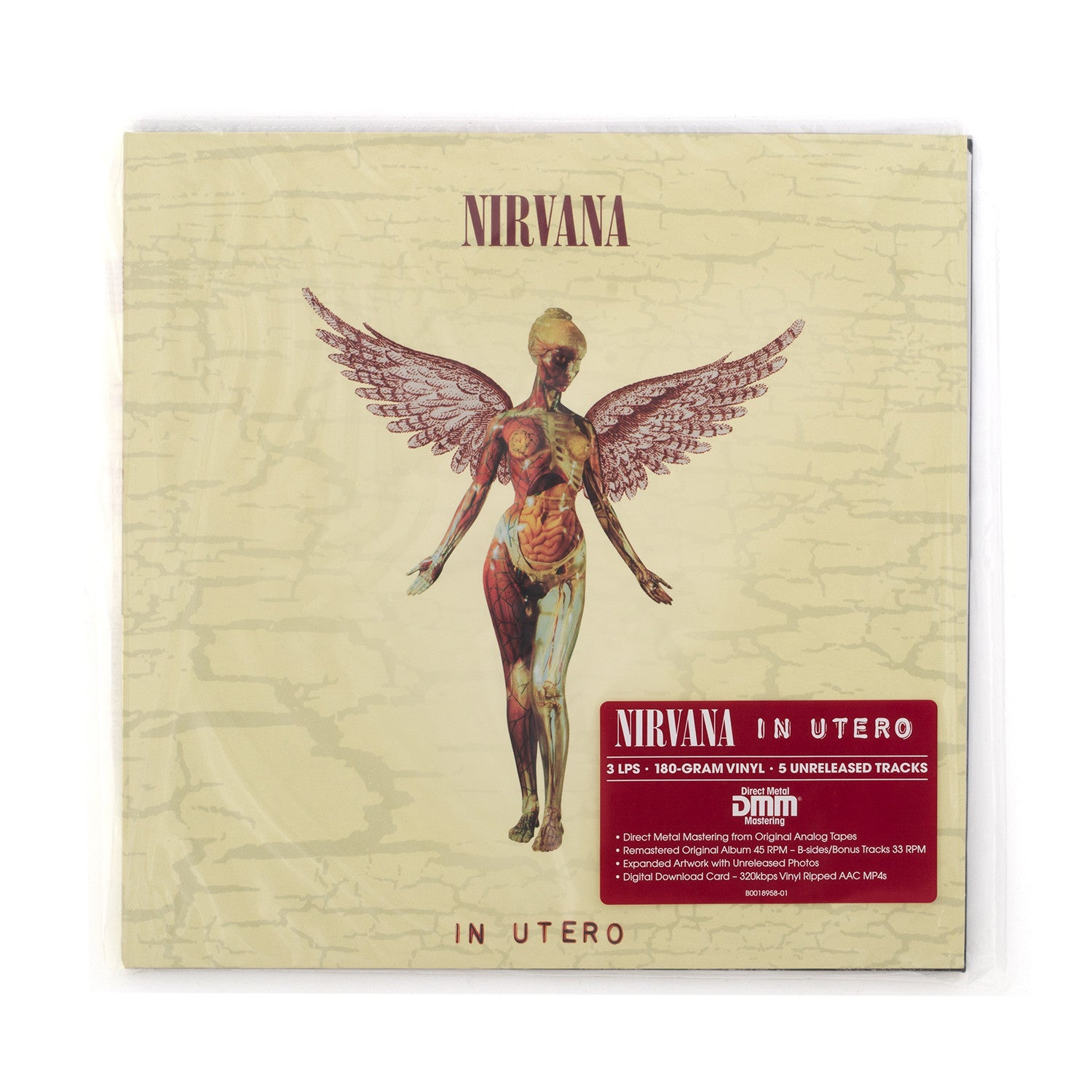 Nirvana - In Utero 3-LP - Super Deluxe Edition - Concrete