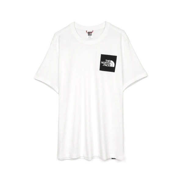 The North Face Fine S/S T-Shirt White - Concrete