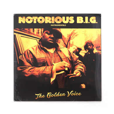 Notorious B.I.G. - Golden Voice Instrumentals 2-LP - Concrete