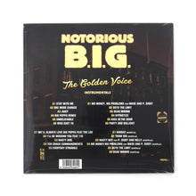 Load image into Gallery viewer, Notorious B.I.G. - Golden Voice Instrumentals 2-LP - Concrete