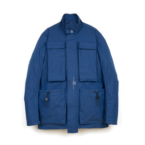 OAKLEY by Samuel Ross Skydiver Field Jacket Blue - Concrete