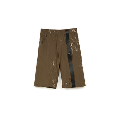 OAKLEY by Samuel Ross Rock Print Short Light Brown - Concrete
