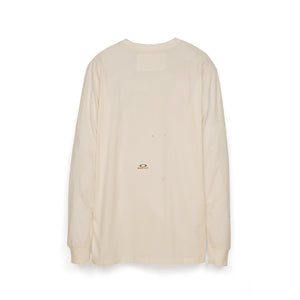 OAKLEY by Samuel Ross Macro Dots L/S T-Shirt 100 White - Concrete
