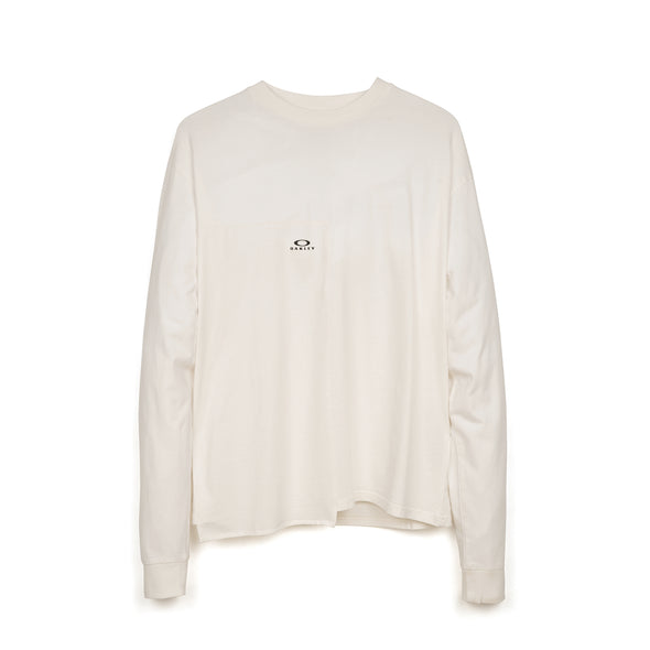 OAKLEY by Samuel Ross Block L/S T-Shirt White