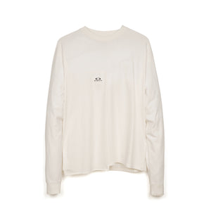 OAKLEY by Samuel Ross Block L/S T-Shirt White - Concrete