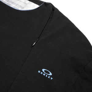 OAKLEY by Samuel Ross Skydiver Zipped L/S T-Shirt Black