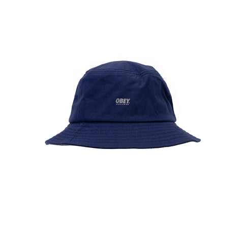Obey Traverse Bucket Hat Navy - OB15116